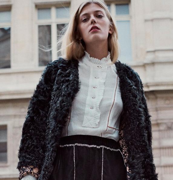 Manteau Celly & blouse Bonty