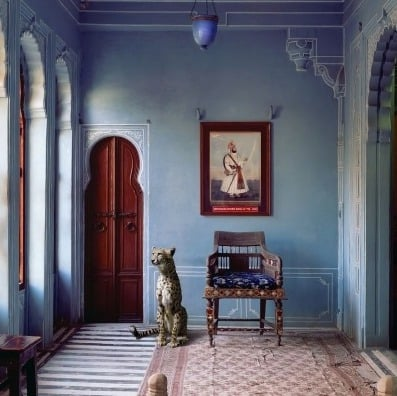A well guarded room in the Maharaja's apartment!