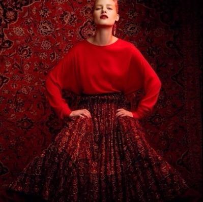 Antik Batik Merys skirt by @delriophotography